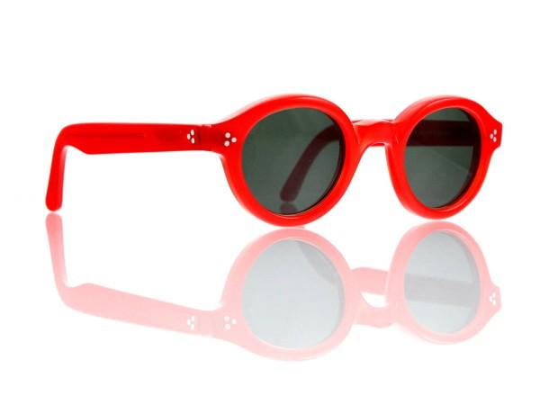 Lesca Lunetier • La Corb's • Sonnenbrille • Col. 218 • Kunststoff graugrün 85%