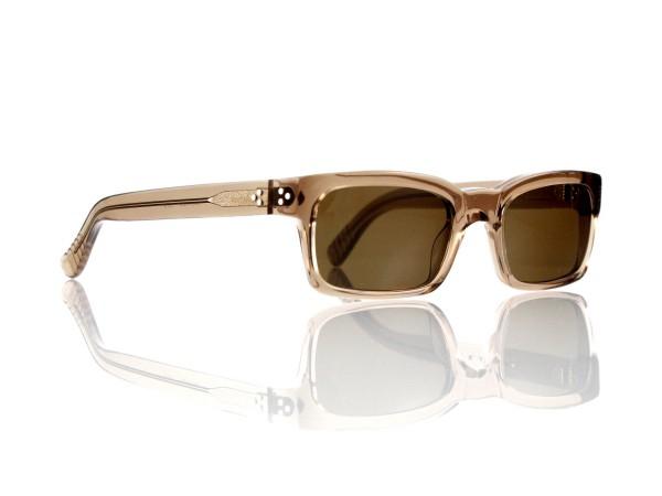 Lesca Lunetier Mod. Bauhaus Sonne Col. 8 Größe 51-19 - 145mm Kunststoff braun 85%