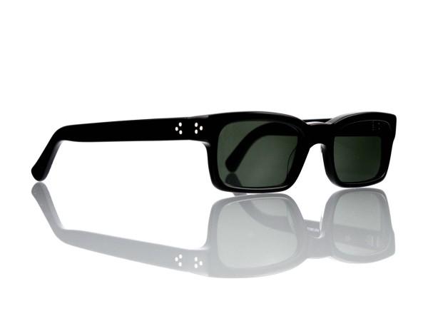 "Lesca Lunetier Mod. Bauhaus Sonne Col. 1 Größe 51-19 - 145 mm Kunststoff ""Ray Ban"" G 15 graugrün 85%"