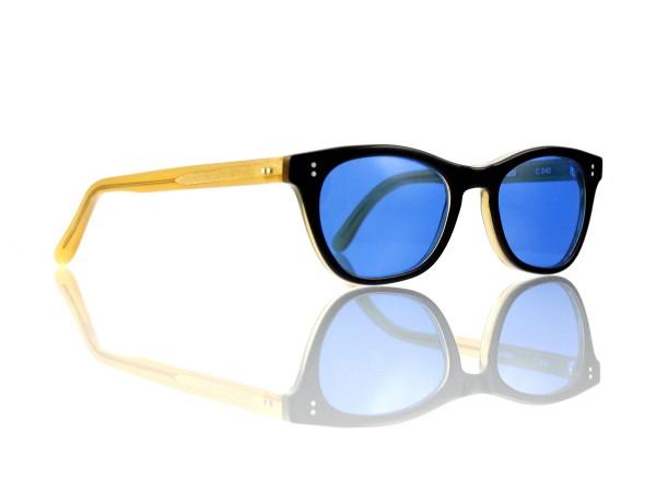Lesca Lunetier Mod. Mathieu Sonne Col. C 240 Größe 50-22 -145mm Kunststoff blau 70%