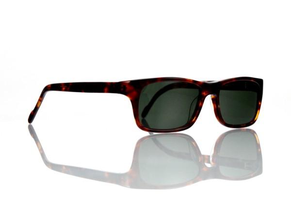 "Lesca Lunetier Mod. Sunny Sonne ""Original Vintage"" Col. 424 grau grün G15 85% Kunststof"