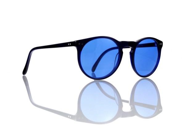 Lesca Lunetier Mod. P 9 Sonne Col. 1 Größe 50-22 - 145 mm Kunststoff blau 70%