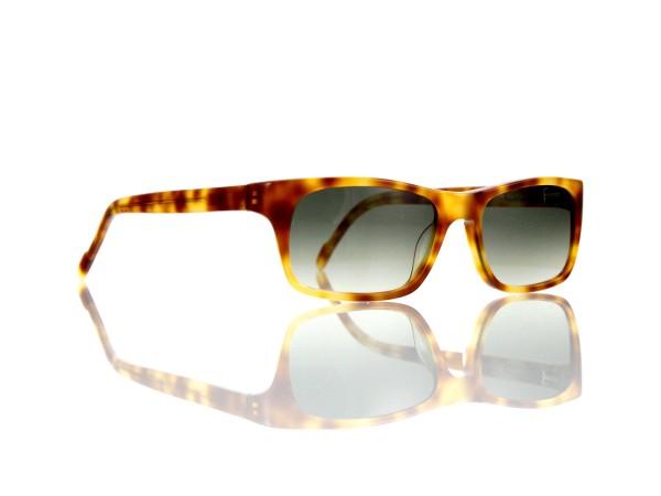 "Lesca Lunetier Mod. Sunny Sonne ""Original Vintage"" Col. 053 grau grün verlauf Kunststoff"