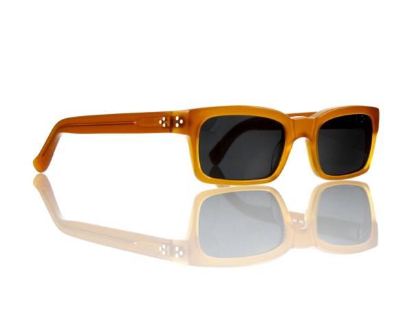 Lesca Lunetier Mod. Bauhaus Sonne Col. 6 Größe 51-19 - 145mm Kunststoff grau 85%