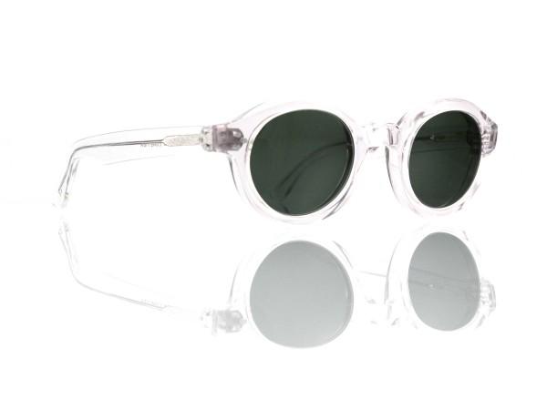Lesca Lunetier • La Corb's • Sonnenbrille • Col. Crystal • Kunststoff graugrün 85%