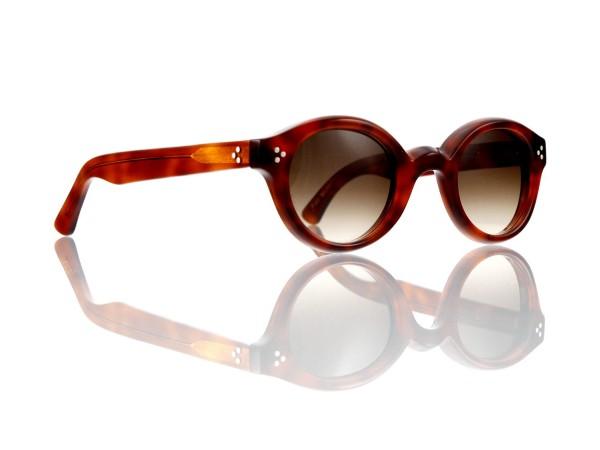 Lesca Lunetier • La Corb's • Sonnenbrille • Col. 053 • Kunststoff braun verlauf ~80-20%