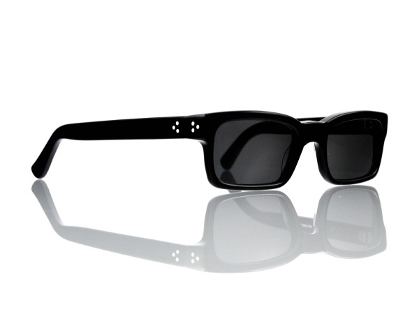 Lesca Lunetier Mod. Bauhaus Sonne Col. 1 Größe 51-19 - 145mm Kunststoff grau 85%