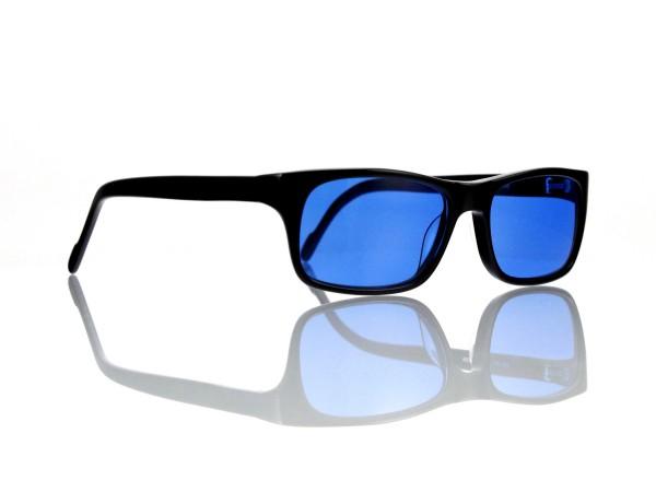 """Lesca Lunetier Mod. Sunny Sonne """"Original Vintage"""" Col. 100 blau ~ 70% Kunststoff"""