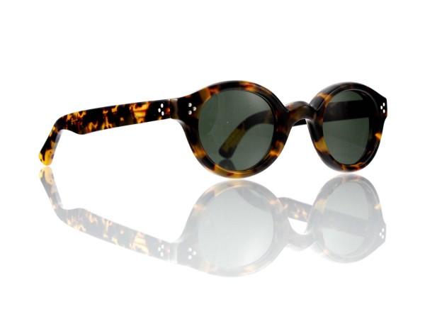 Lesca Lunetier • La Corb's • Sonnenbrille • Col. 827 • Kunststoff graugrün 85%