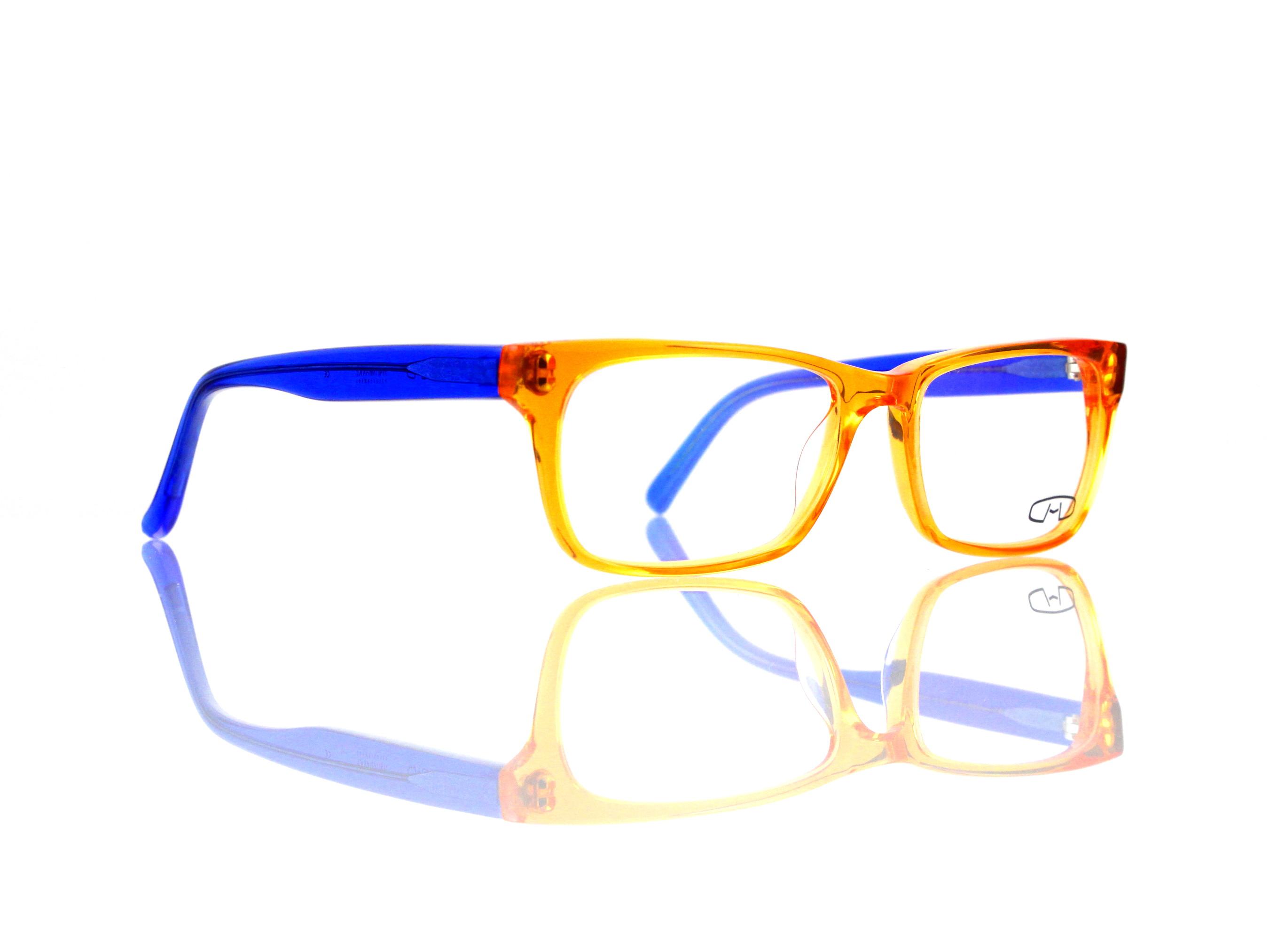 FreudenHaus Eyewear Vol. 4.25 or-bl Größe 52-16 Bügellänge 135 mm ...