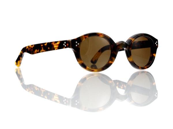 Lesca Lunetier • La Corb's • Sonnenbrille • Col. 827 • Kunststoff braun 85%