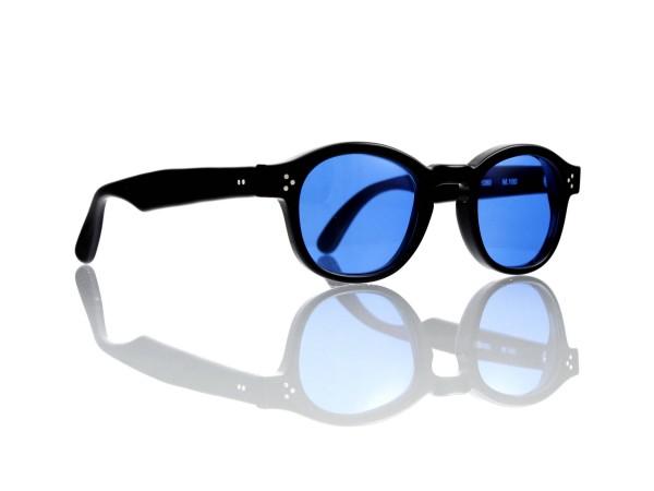 Lesca Lunetier Mod. P.080 Sonne Col. M.100 Größe 44-22 - 145mm Kunststoff blau 70%