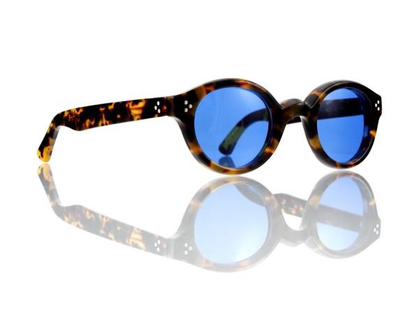Lesca Lunetier • La Corb's • Sonnenbrille • Col. 827 • Kunststoff blau 70%