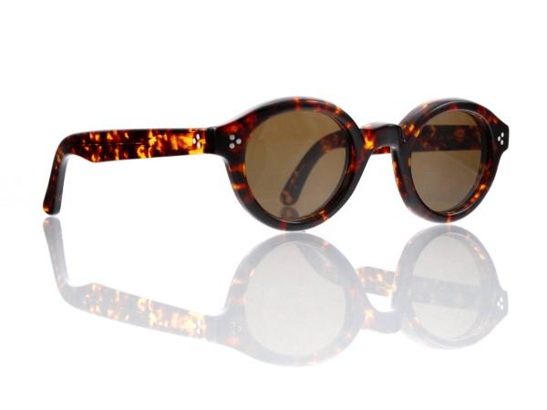 Lesca Lunetier • La Corb's • Sonnenbrille • Col. 424 • Kunststoff braun 85%