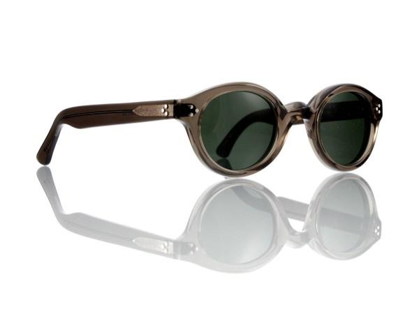 Lesca Lunetier • La Corb's • Sonnenbrille • Col. Grey • Kunststoff graugrün 85%