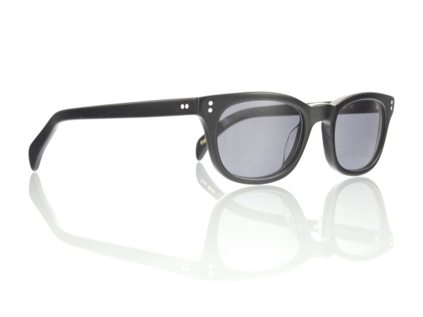 Lesca Lunetier Mod. Bertie Sonne Col. 100 Größe 49-21 - 150 mm Kunststoff grau ~75%