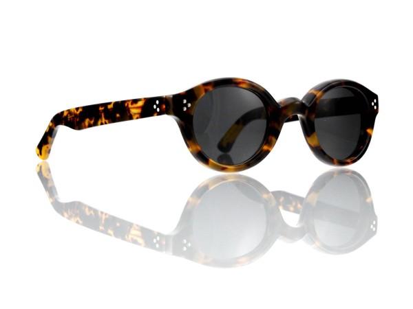 Lesca Lunetier • La Corb's • Sonnenbrille • Col. 827 • Kunststoff grau 85%