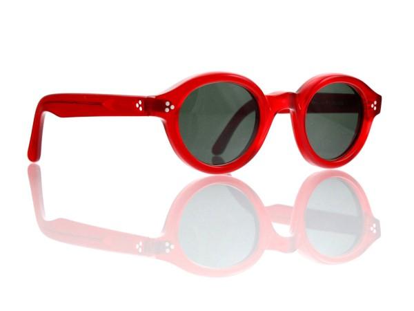 Lesca Lunetier • La Corb's • Sonnenbrille • Col. 0156 • Kunststoff graugrün 85%