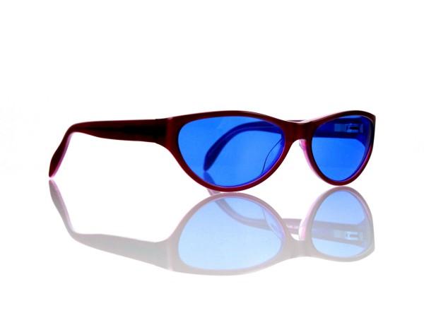 "Lesca Lunetier Mod. P 50 ""Original Vintage"" Col.084 blau ~70% Kunststoff 100% UV Schutz"