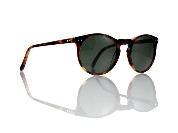 """Lesca Lunetier Mod. P 9 Sonne Col. 8 Größe 50-22 - 145 mm Kunststoff """"Ray Ban"""" G 15 graugrün 85%"""