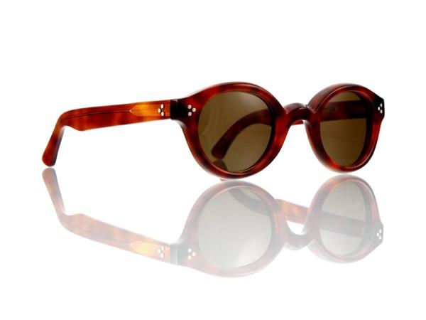 Lesca Lunetier • La Corb's • Sonnenbrille • Col. 053 • Kunststoff braun 85%