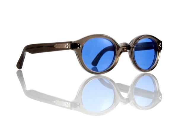 Lesca Lunetier • La Corb's • Sonnenbrille • Col. Grey • Kunststoff blau 70%