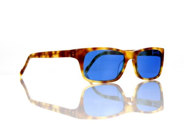 """Lesca Lunetier Mod. Sunny Sonne """"Original Vintage"""" Col. 053 blau ~70% Kunststoff"""