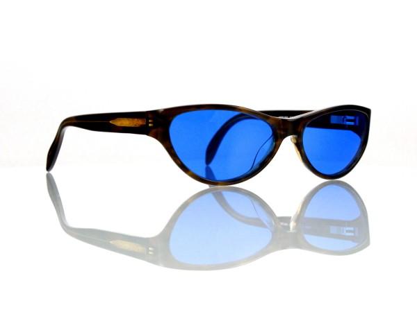 "Lesca Lunetier Mod. P 50 ""Original Vintage"" Col.032 blau ~70% Kunststoff 100% UV Schutz"
