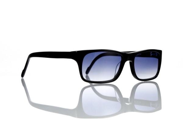 "Lesca Lunetier Mod. Sunny Sonne ""Original Vintage"" Col. 100 grau blau verlauf Kunststoff"