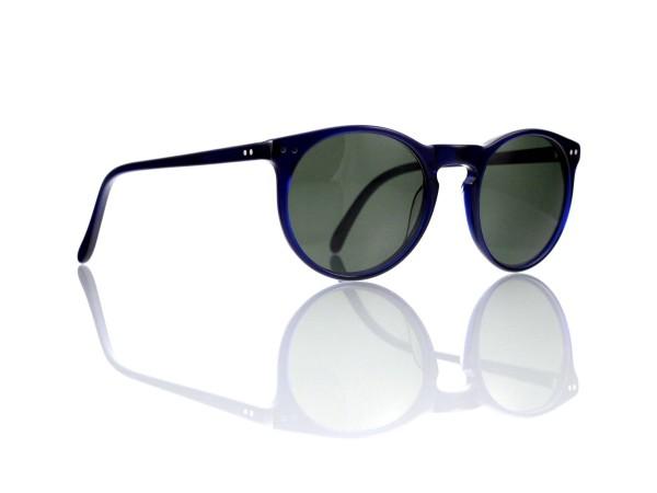 """Lesca Lunetier Mod. P 9 Sonne Col. 1 Größe 50-22 - 145 mm Kunststoff """"Ray Ban"""" G 15 graugrün 85%"""