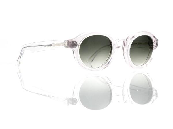 Lesca Lunetier • La Corb's • Sonnenbrille • Col. Crystal • Kunststoff graugrün verlauf ~80-20%