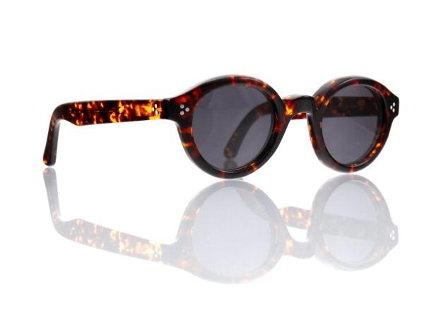 Lesca Lunetier • La Corb's • Sonnenbrille • Col. 424 • Kunststoff grau 85%