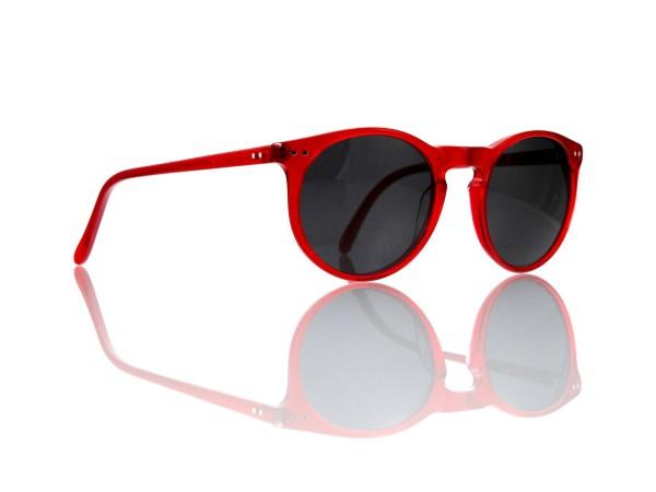 Lesca Lunetier Mod. P 9 Sonne Col. rot Größe 50-22 - 145 mm Kunststoff grau 85%