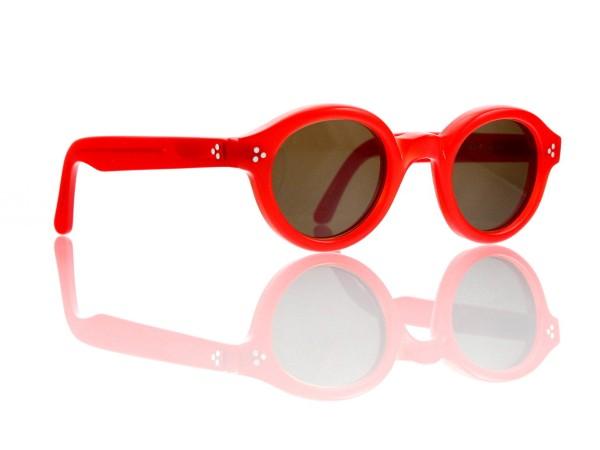 Lesca Lunetier • La Corb's • Sonnenbrille • Col. 218 • Kunststoff braun 85%