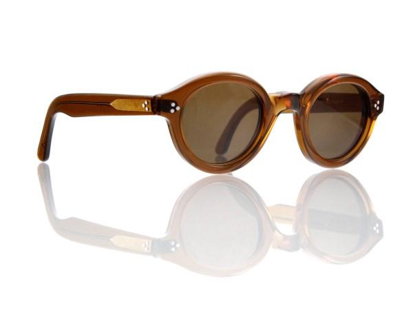 Lesca Lunetier • La Corb's • Sonnenbrille • Col. Cognac • Kunststoff braun 85%