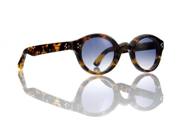 Lesca Lunetier • La Corb's • Sonnenbrille • Col. 827 • Kunststoff blaugrau verlauf ~80-20%