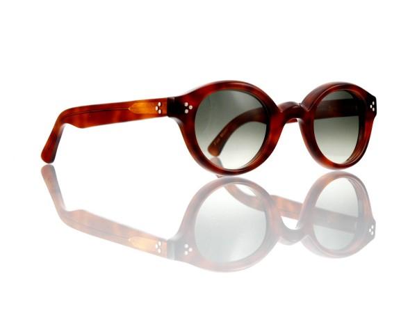 Lesca Lunetier • La Corb's • Sonnenbrille • Col. 053 • Kunststoff graugrün verlauf ~80-20%