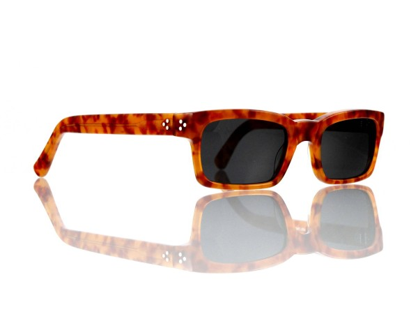 Lesca Lunetier Mod. Bauhaus Sonne Col. 3 Größe 51-19 - 145mm Kunststoff grau 85%