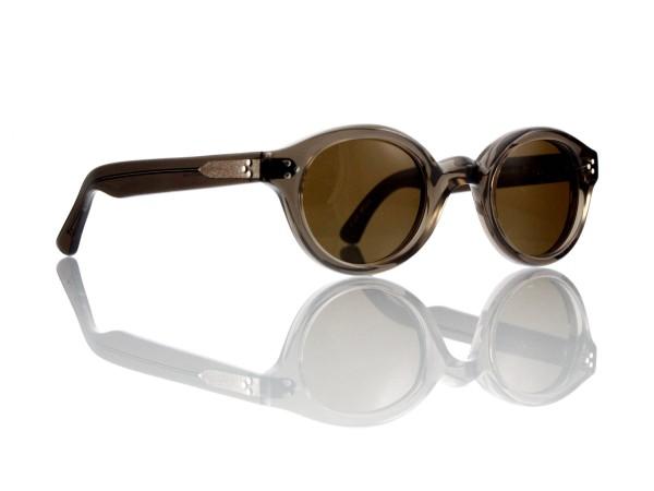 Lesca Lunetier • La Corb's • Sonnenbrille • Col. Grey • Kunststoff braun 85%