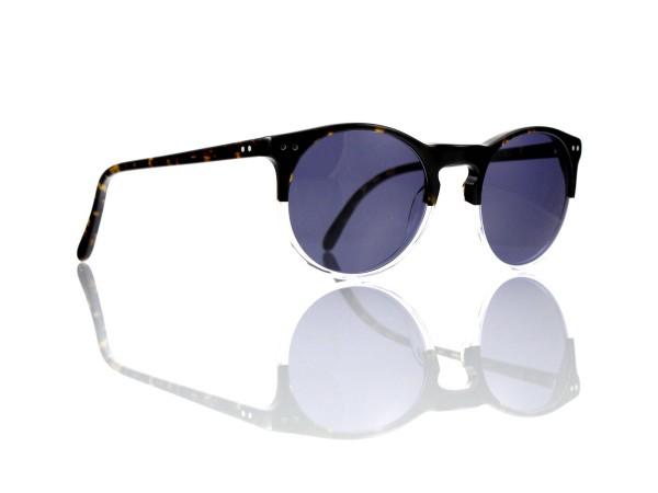 Lesca Lunetier Mod. P 9 Sonne Col. 11 Größe 50-22 - 145 mm Kunststoff blaugrau 85%