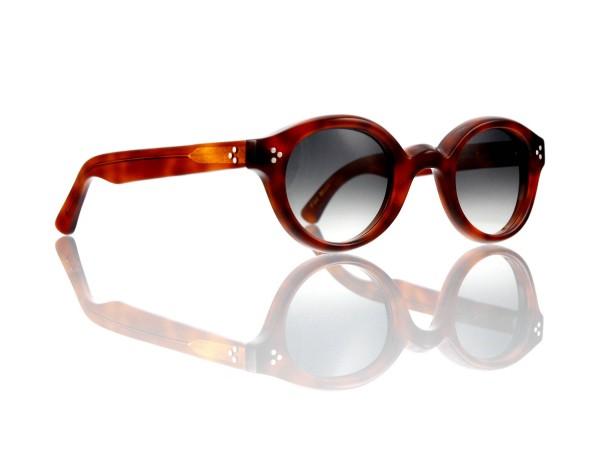 Lesca Lunetier • La Corb's • Sonnenbrille • Col. 053 • Kunststoff grau verlauf ~80-20%