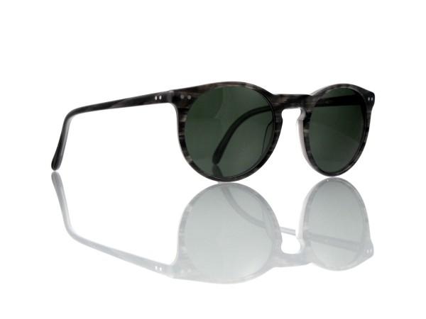 """Lesca Lunetier Mod. P 9 Sonne Col. 2 Größe 50-22 - 145 mm Kunststoff """"Ray Ban"""" G 15 graugrün 85%"""
