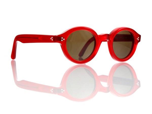 Lesca Lunetier • La Corb's • Sonnenbrille • Col. 0156 • Kunststoff braun 85%