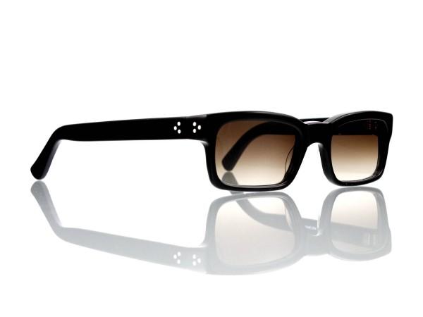 Lesca Lunetier Mod. Bauhaus Sonne Col. 1 Größe 51-19 - 145mm Kunststoff braun verlauf