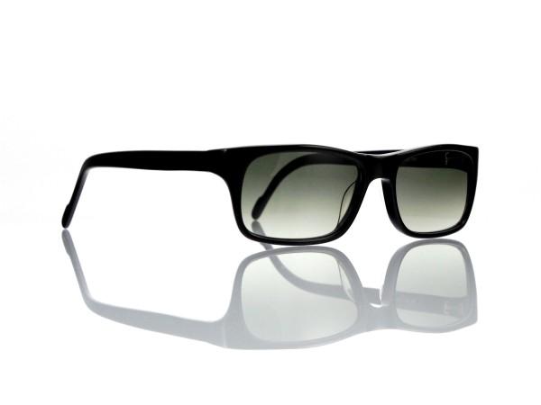 "Lesca Lunetier Mod. Sunny Sonne ""Original Vintage"" Col. 100 grau grün verlauf Kunststoff"