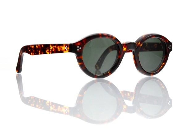 Lesca Lunetier • La Corb's • Sonnenbrille • Col. 424 • Kunststoff graugrün 85%