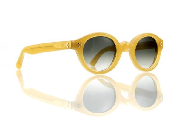 Lesca Lunetier • La Corb's • Sonnenbrille • Col. 17 • Kunststoff graugrün verlauf ~80-20%