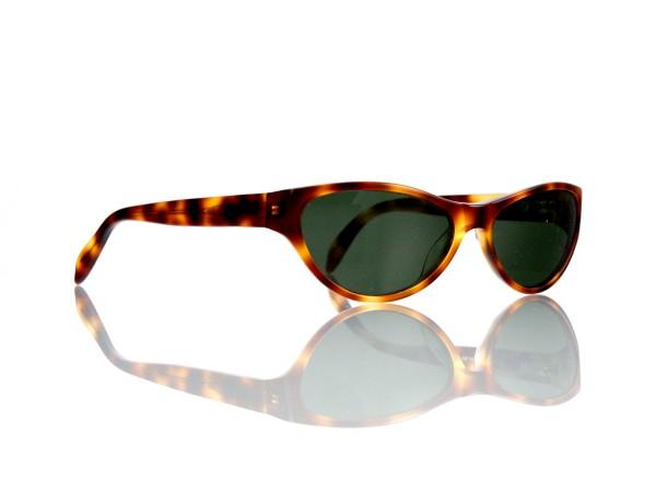 "Lesca Lunetier Mod. P 50 ""Original Vintage"" Col.424 grau grün G15 85% Kunststoff"