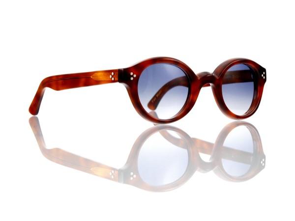 Lesca Lunetier • La Corb's • Sonnenbrille • Col. 053 • Kunststoff graublau verlauf ~80-20%