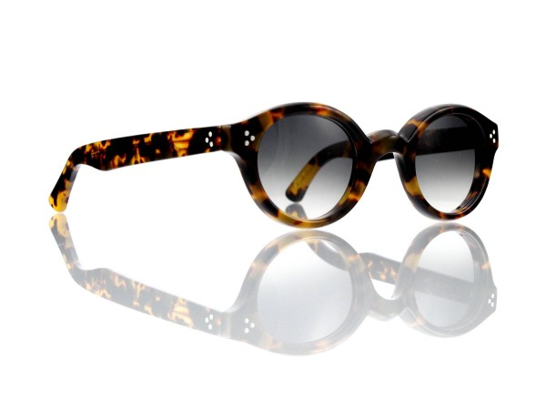 Lesca Lunetier • La Corb's • Sonnenbrille • Col. 827 • Kunststoff grau verlauf ~80-20%